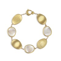 Marco Bicego Armband Lunaria 18ct.Gelbgold/Perlmutt BB2099-MPW