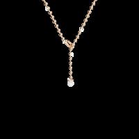 Boulevard Stone Halskette Bronze-vergoldet mit Perle NEU