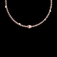 Boulevard Stone Halskette Bronze-rosevergoldet mit Farbstein NEU