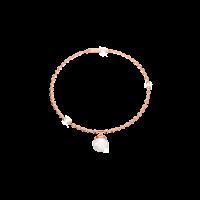 B -H Cool Armband Bronze-rosevergoldet mit Perle NEU