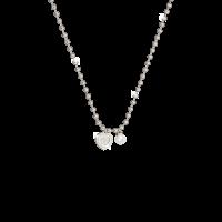 My Love Halskette Bronze-versilbert mit Herzanhänger und Perle NEU