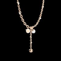 Hollywood Pearl Halskette Bronze-vergoldet mit Perle NEU