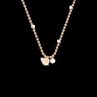 My Love Halskette Bronze-vergodet mit Herzanhänger und Perle NEU