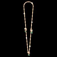 Hollywood Stone Halskette Bronze-vergoldet mit Steinen NEU