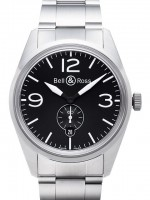 Bell&Ross BR123 Original Black mit Stahlband