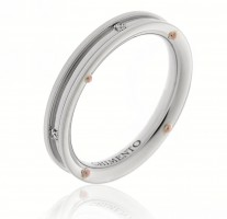 Chimento Damenring 1A08481B15 in 750/00 Weissgold