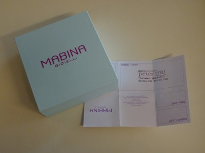 "Mabina Gioielli Armband ""Kleeblatt"" mit Zirkonia 533143 NEU"