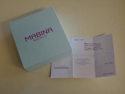 "Mabina Gioielli Armband ""Kleeblatt"" mit Zirkonia 533147 NEU"