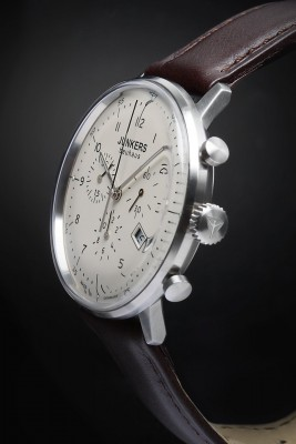 Junkers Bauhaus Chronograph 6086-5 inkl.Ersatzband NEU