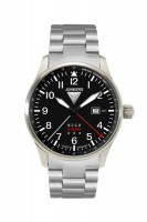 "Junkers ""Hugo Junkers"" GMT Mod: 6644M-2 inkl.Lederband NEU"