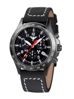 KHS Tactical Watches Black Platton Chrono Mod: KHS.BPC.LBB inkl. Ersatzband NEU