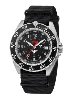 KHS Tactical Watches Enforcer Steel Mod: KHS.ENFS.NB inkl. Ersatzband NEU