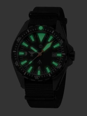 KHS Tactical Watches Missiontimer 3 C1 Mod: KHS.MTI.NB