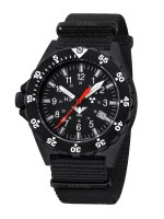 KHS Tactical Watches Black Shooter Mod: KHS.SH.NB inkl. Ersatzband NEU