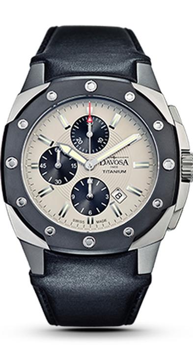Davosa Titanium Chronograph 161.505.15 NEU