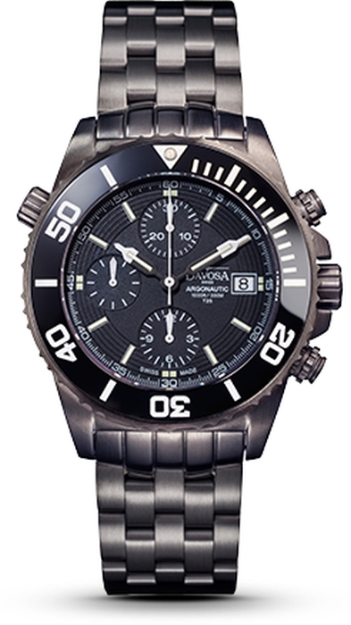 Davosa Argonautic Lumis Chronograph PVD NEU