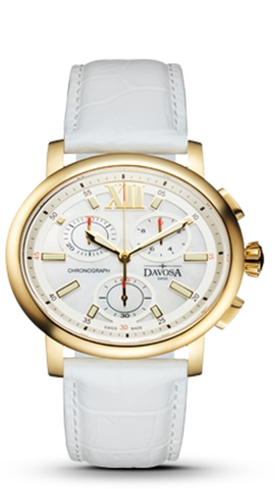 Davosa Oval Edition Damenchronograph 167.570.15 NEU