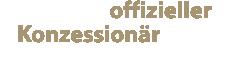 Wir sind offizielle Konzessionär aller angebotenen Marken